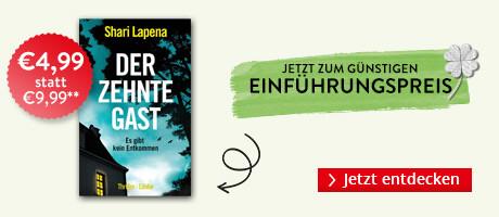 Zum Einführungspreis bei eBook.de: Der zehnte Gast von Shari Lapena