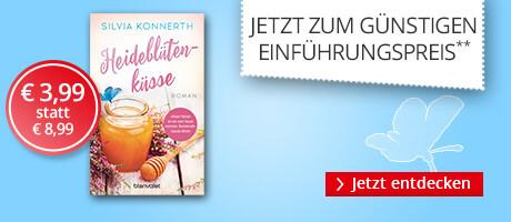Zum Einführungspreis: Heideblütenküsse von Silvia Konnerth von bei Hugendubel