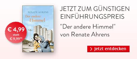 Zum Einführungspreis bei Hugendubel: Der andere Himmel von Renate Ahrens