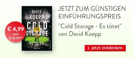 Zum Einführungspreis bei Hugendubel: Cold Storage - Es tötet von David Koepp