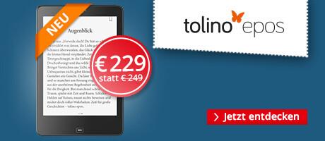 tolino epos - jetzt für 229 €