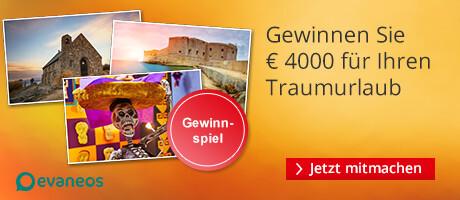 Gewinnen Sie € 4000 für Ihren Traumurlaub
