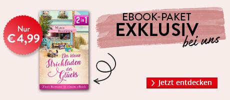 Exklusiv bei Hugendubel: Der kleine Strickladen des Glücks - Zwei Romane in einem eBook von Marie Bostwick
