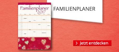 Familienplaner für 2017 bei Hugendubel