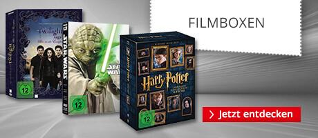 Entdecken Sie die besten Film-Reihen in einer praktischen Filmbox!