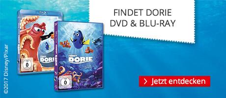 Findet Dorie - neu auf DVD & Blu-ray