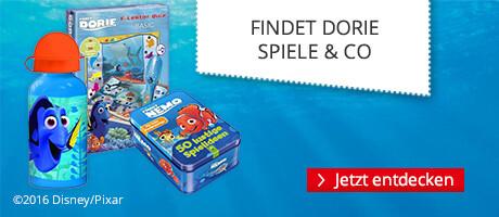 Findet Dorie - Spiele & Co