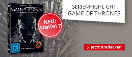 Serienhighlight Game of Thrones - Alles über die Serie und die 7. Staffel
