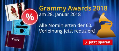 Grammy Awards 2018 - jetzt alle Nominierten reduziert!