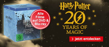 Alle Harry Potter Filme auf DVD & Blu-ray