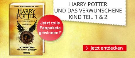 Harry Potter und das verwunschene Kind - jetzt sichern