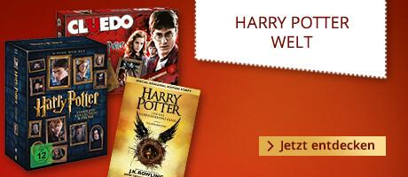 Harry Potter - alle Bücher, Filme, Spielwaren & mehr