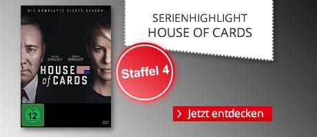 Serienhighlight: House of Cards - Staffel 4 & alles zur Serie