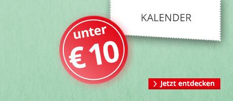 Kalender unter 10 €