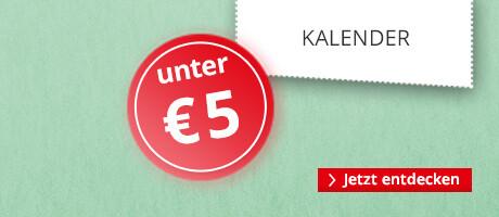 Kalender unter € 5
