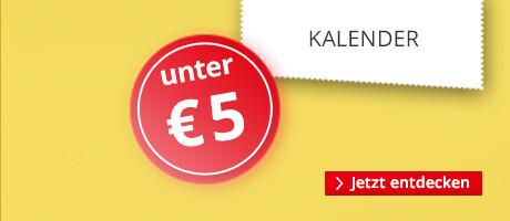 Kalender unter €5