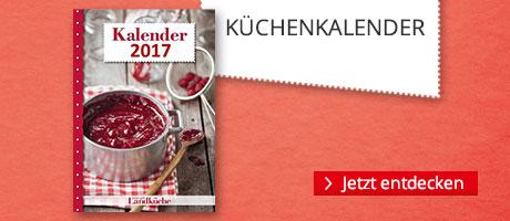 Küchenkalender für 2017 bei Hugendubel