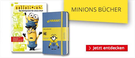 Büchervon den Minions & Ich - Einfach unverbesserlich