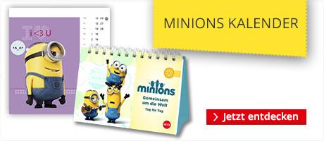 Kalender von den Minions & Ich - Einfach unverbesserlich