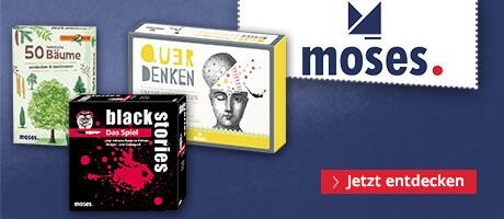 moses - Tolle Spiele, Bücher und Geschenkideen für Groß und Klein!