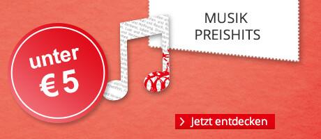 Musik für unter 5 €