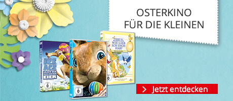 Großes Osterkino für die Kleinen - DVDs ab € 4,99