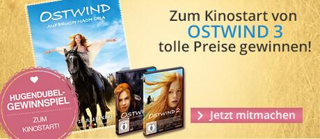 Gewinnen Sie zum Kinostart von Ostwind 3 tolle Preise wie Freikarten, Filmplakate und DVDs!