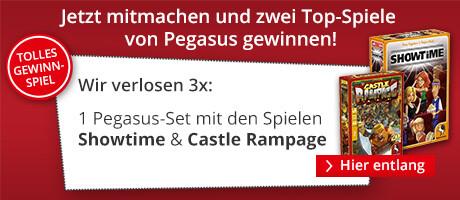 Zwei Top-Spiele von Pegasus gewinnen