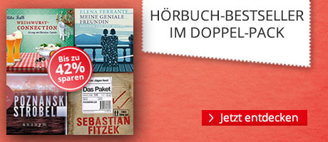 Hörbuch-Bestseller im Paket zum Aktionspreis bei Hugendubel