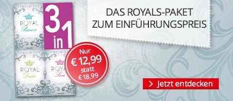 Die Royals-Saga 1-3 zum Einführungspreis bei Hugendubel