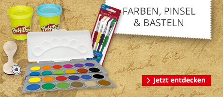 Farben, Pinsel & Basteln