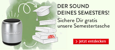 Der Sound Deines Semesters - mit unseren Fachbüchern und der gratis Semestertasche
