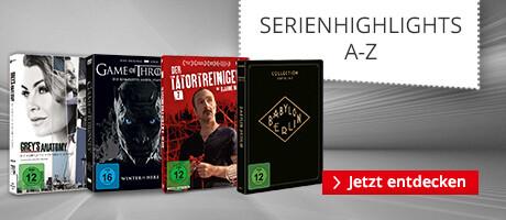 Serienhighlights bei Hugendubel.de - Entdecken Sie die besten TV-Serien auf DVD & Blu-ray