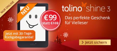Sichern Sie sich den tolino eReader tolino shien 3 für € 99
