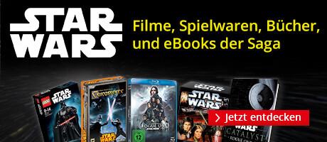 Star Wars - alle Bücher, Filme und Spielware