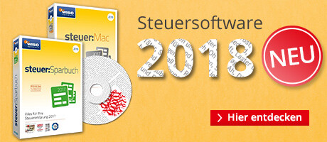 Steuersoftware 2018 - für Ihre Steuererklärung 2017