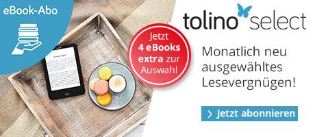 tolino select: Diesen Monat 4 Titel mehr zur Auswahl