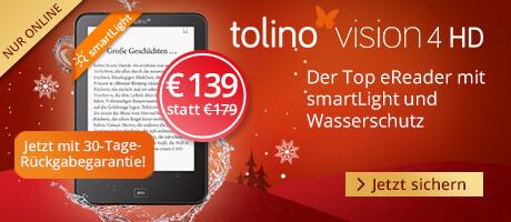 Sichern Sie sich den tolino vision 4 HD für nur € 139