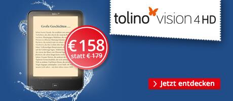 tolino vision 4 HD - jetzt für 158 €