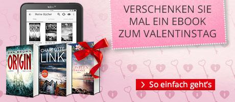 eBooks verschenken zum Valentinstag