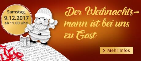 Der Weihnachtsmann kommt zu uns