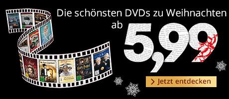 Ausgewählte Weihnachtsfilme ab 5,99 €