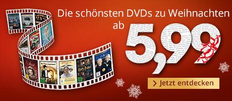 Die schönsten DVDs zu Weihnachten - ab 5,99 EUR