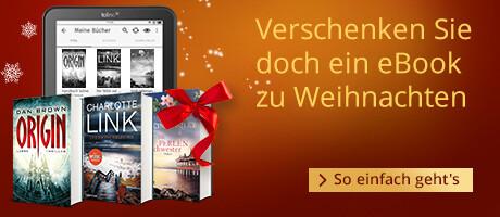 Verschenken Sie doch mal ein eBook zu Weihnachten