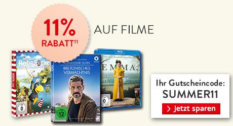 Gutschein zum Dahinschmelzen: 11% Rabatt auf Filme