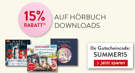 Gutschein zum Dahinschmelzen: 15% Rabatt auf Hörbuch Downloads