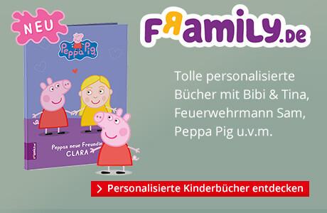 framily: Personalisierte Kinderbücher