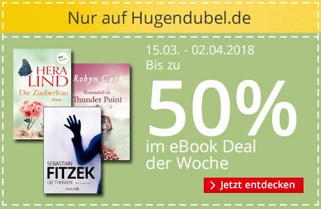Bis 50% auf eBooks sparen