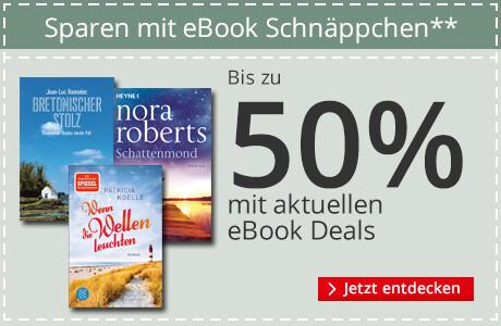 Bis zu -50% auf eBooks