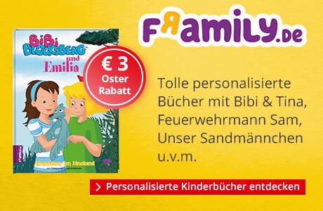 Framily - Personalisierte Kinderbücher